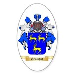 Gruenhut Sticker (Oval 10 pk)