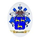 Gruenfeld Ornament (Oval)