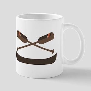 Row Canoe Mugs