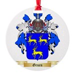 Gruen Round Ornament