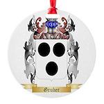 Gruber Round Ornament