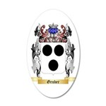 Gruber 35x21 Oval Wall Decal