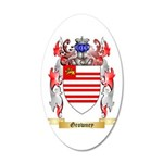 Growney 20x12 Oval Wall Decal
