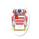 Growney 35x21 Oval Wall Decal