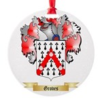 Groves Round Ornament