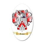 Groves 35x21 Oval Wall Decal