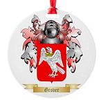 Grover Round Ornament