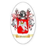 Grover Sticker (Oval 50 pk)