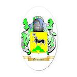 Groussot Oval Car Magnet