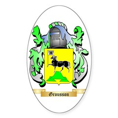 Grousson Sticker (Oval)