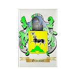Grousset Rectangle Magnet (100 pack)