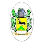 Grousset Sticker (Oval 50 pk)