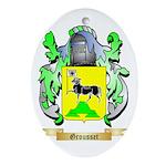 Grousset Ornament (Oval)