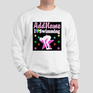 AWESOME SWIMMER Sweatshirt