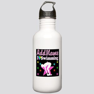 AWESOME SWIMMER Stainless Water Bottle 1.0L