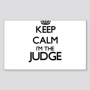 Keep calm I'm the Judge Sticker