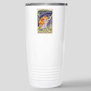 Spark Roast Coffee Stainless Steel Travel Mug