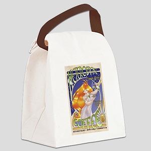 Spark Roast Coffee Canvas Lunch Bag