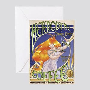 Spark Roast Coffee Greeting Cards