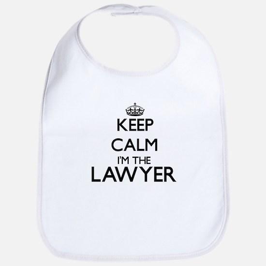 Keep calm I'm the Lawyer Bib