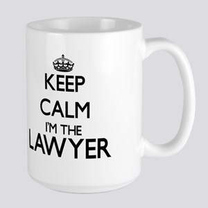 Keep calm I'm the Lawyer Mugs