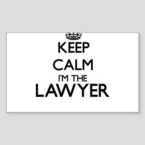 Keep calm I'm the Lawyer Sticker