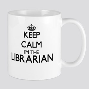 Keep calm I'm the Librarian Mugs