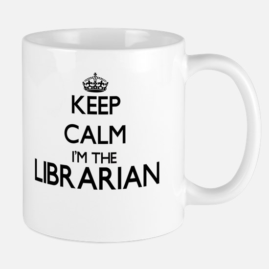 Keep calm I'm the Librarian Mugs