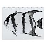 Atlantic Ocean Pier Fish 1 Wall Calendar