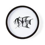 Spadefish Wall Clock