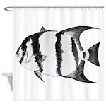 Spadefish Shower Curtain