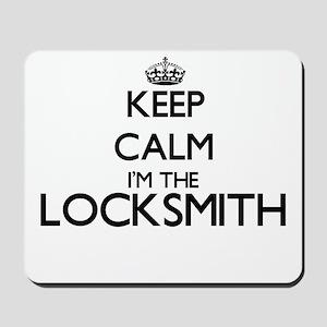 Keep calm I'm the Locksmith Mousepad
