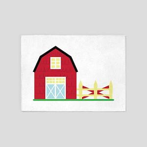 Private Farm 5'x7'Area Rug