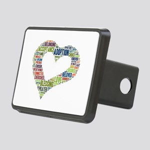 heart fulfilled Rectangular Hitch Cover