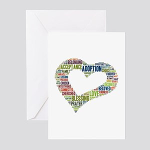 Adoption greeting cards cafepress heart fulfilled greeting cards pk of 20 m4hsunfo