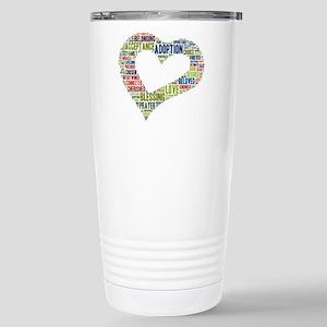 heart fulfilled Stainless Steel Travel Mug