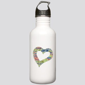 heart fulfilled Stainless Water Bottle 1.0L