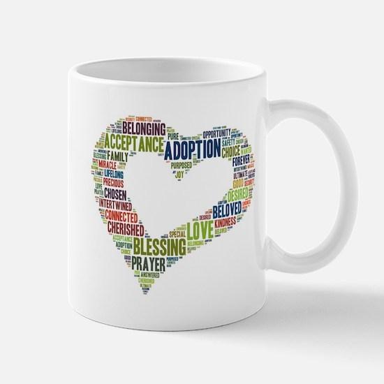 heart fulfilled Mug
