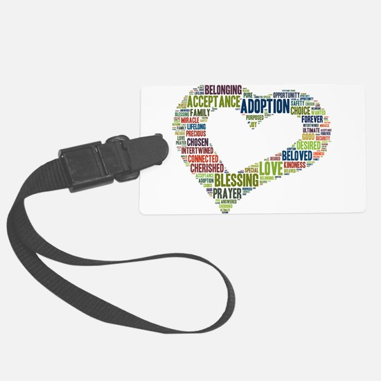 heart fulfilled Luggage Tag