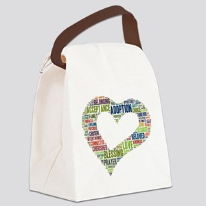 heart fulfilled Canvas Lunch Bag
