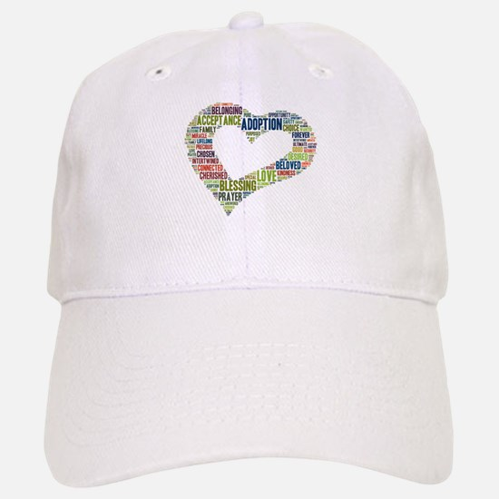 heart fulfilled Baseball Baseball Cap