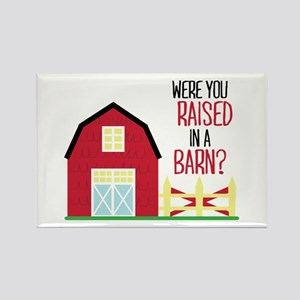 Raised In A Barn Magnets