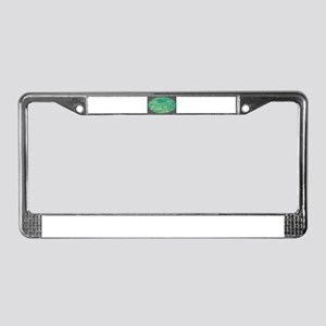 Sea Breeze License Plate Frame