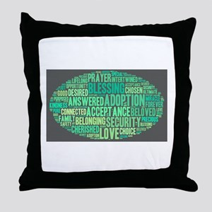 Sea Breeze Throw Pillow