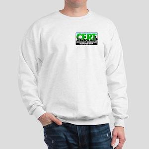 CERT Sweatshirt-white or gray