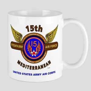 15TH ARMY AIR FORCE* ARMY AIR CORPS* WO Mug