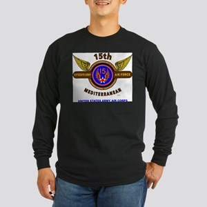 15TH ARMY AIR FORCE* ARMY AIR Long Sleeve T-Shirt
