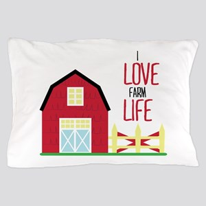 I Love Farming Pillow Case