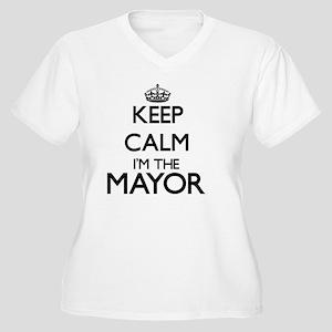 Keep calm I'm the Mayor Plus Size T-Shirt