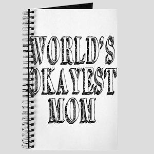 World's Okayest Mom Journal